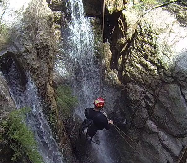 Advanced Canyoning